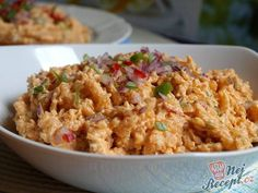 Slovak Recipes, Food 52, Fried Rice, Kids Meals, Baking Recipes, Food And Drink, Appetizers, Homemade, Snacks