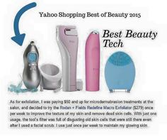 """We are for real over here in the skincare world. Our Macro Exfoliation device was just selected by Yahoo as a """"Best Beauty Tech"""" device for 2015. These accolades don't happen by accident. These accolades aren't self-fulfilled. They are warranted, and they come as a direct result of the doctors' expertise and business mindedness AND as a direct result of a marketing team that is passionate about the products."""