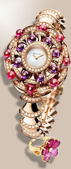Bvlgari-- Diva Haute Joaillerie - SUPREMELY SUBLIME, I award this effort an A*** for such originality and an A**** for quality and craftsmanship! http://www.bykoket.com/blog/
