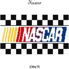 Looking for your next project? You're going to love nascar pillow or wall hanging graph by designer CrochetInfinity.