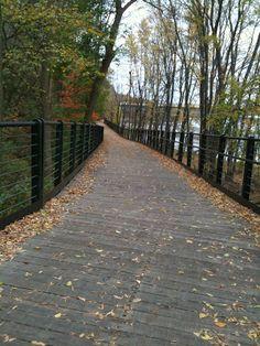 Path along the Ottawa river