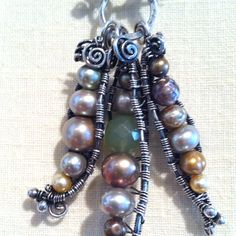 When wire work jewelry blows my mind... New at http://annebocci.com