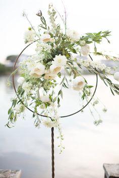 Unique floral arrangement // Amy and Jordan Photography