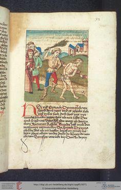 Cod. Pal. germ. 85: Antonius von Pforr: Buch der Beispiele (Schwaben, um 1480/1490), Fol 32r