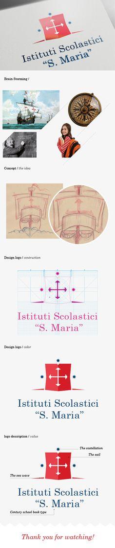Istituti Scolastici Santa Maria on Behance