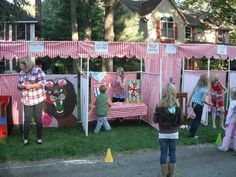 Carnival Booth PVC Frame Plans - DIY Carnival Booths - Customizable Fair booths