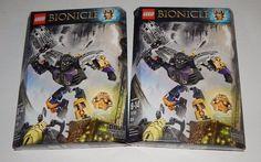 LEGO Bionicle ONUA Master of Earth (70789) ~ SEALED Lot of 2 #LEGO