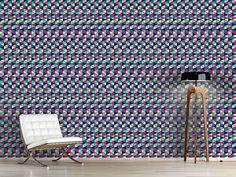 Tolles Geometrisches Design Mit Dreiecks Ornamenten. Verzaubern Sie Im  Handumdrehen Ihre Wände!