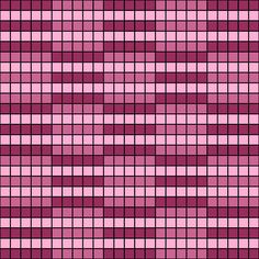 Free Printable Striped Op-Art Checkerboard Chart for Tapestry Crochet: Free…