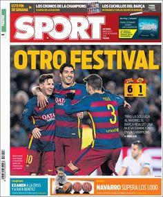 Portada Sport 25/11/2015