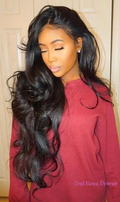 Rabake Brazilian Body Wave Hair 3 Bundles With Closure Grade Brazilian Virgin Hair Wavy Human Hair Bundles With off promotion factory cheap price,DHL worldwide shipping, store coupon available. Sew In Hairstyles, My Hairstyle, Pretty Hairstyles, Straight Hairstyles, Makeup Hairstyle, Hairstyles 2018, Frontal Hairstyles, Hairstyle Ideas, Middle Hairstyles