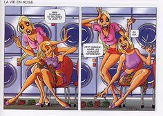 blondes et fringues