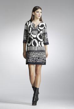 Elegant silk animal print dress www.chrisper.gr find it online