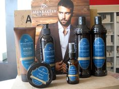 Being a true gentleman never goes out of style Marrakesh for Men ~ Argan & Hemp Oil Therapy http://www.marrakeshhaircare.com/product-category/marrakesh-for-men/  Double Hop - 2-in-1 shampoo/body wash Stout - hemp & argan conditioner Bomber - hemp & argan shave cream Porter - hemp & argan alcohol-free styling gel Imperial - hemp & argan beard oil  ♣ No dyes, petroleum, parabens, propylene glycol or sulfates ♣ Cruelty-Free (certified by PETA and Leaping Bunny)