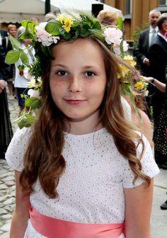 Princess Ingrid Alexandra of Norway Ingrid Alexandra, Norwegian Royalty, Real Princess, Royal House, Royal Fashion, New Kids, Norway, Royals, Flower Girl Dresses