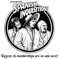 No one expects the Spanish Inquisition! Or, the fact that online registration is now available! Buy your membership early to avoid the…
