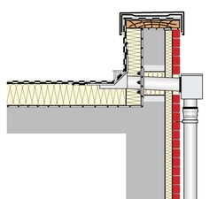 Hospital Architecture, House Plans Mansion, Roof Detail, House Stairs, Construction, Detailed Drawings, Home Renovation, Architecture Details, Facade