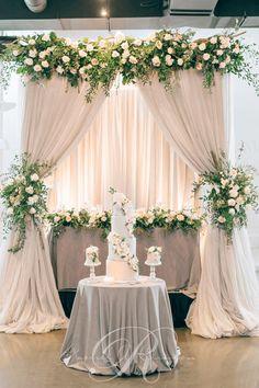 Chuppahs, Canopies & Backdrops - Wedding Decor Toronto Rachel A. Clingen Wedding & Event Design