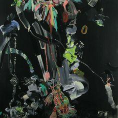 "PEPA PRIETO ""The Hypnotic Suggestion"", 2012. Acrylic on Wood Panel. Size: 122/122cm"