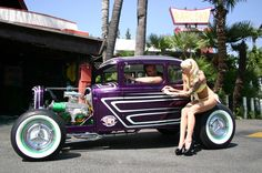 Rat Rod Girls Wallpaper | Rods, Bombs, And Kustoms: Aesthetic Kings Of The Road