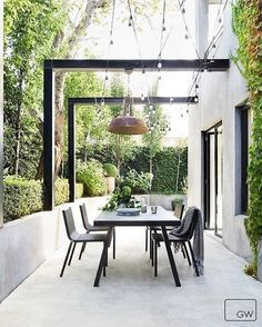 - Pergola Carport Car Ports How To Build - Small Backyard Pergola Covered Patios - Outdoor Areas, Outdoor Rooms, Outdoor Dining, Indoor Outdoor, Outdoor Furniture Sets, Outdoor Decor, Lounge Furniture, Dining Area, Outdoor Seating