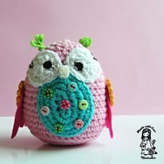 Magic with hook and needles: My owl obsession ...