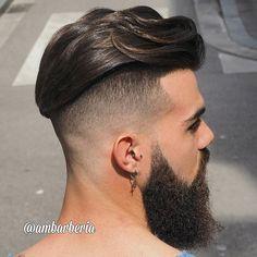 Haircut by ambarberia http://ift.tt/1Mww36c #menshair #menshairstyles #menshaircuts #hairstylesformen #coolhaircuts #coolhairstyles #haircuts #hairstyles #barbers