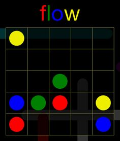 I solved Regular Pack, 5x5 level 2 in Flow Free perfectly!  Can you?