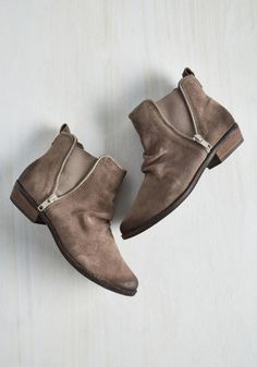 fd0f2c91ff3 Madrid It Again Bootie in Taupe | A Mod Retro Vintage CowGirl Kinda Thing  Suede Booties
