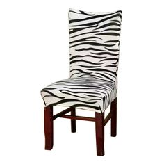 We scoured the globe for unique products in black and white...  Now available on our store: Zebra Jacquard Ch... Check it out here! http://shadesofzebra.com/products/zebra-jacquard-chair-covers-cheap-jacquard-stretch-chair-covers-for-dining-room-decoration-short-v43?utm_campaign=social_autopilot&utm_source=pin&utm_medium=pin