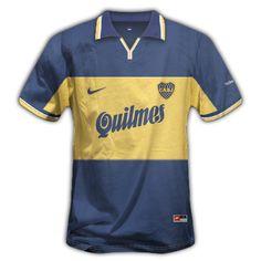 MegaPost ! Camisetas de boca Juniors 1970 a 2012 en Png