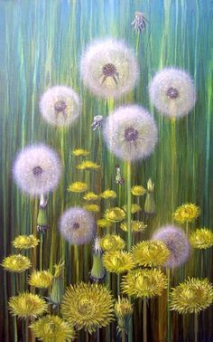 Dandelion Monet   Flickr - Photo Sharing!