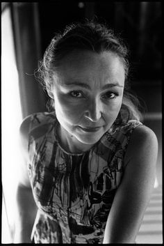Catherine Frot (1956) - French theatre and film actress. Photo by Patrice Terraz, 2011