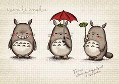 Totoro <3 (vaan toi hahmo, en oo nähny/lukenu sarjaa)