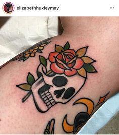 @ quejlaverga /// tatuaje de calavera