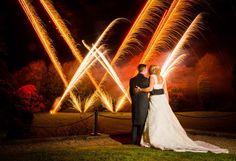 Fireworks at Dissington Hall #wedding #photography #weddingphotography #fireworks