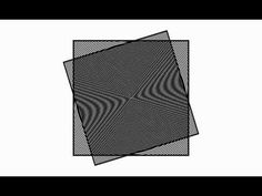 Moiré Patterns - Scaling Circles and Lines