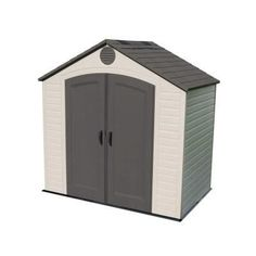LIFETIME 8 X 5 FT OUTDOOR STORAGE SHED