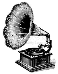 stock-illustration-10456562-gramophone-antique-musical-illustrations.jpg (441×556)
