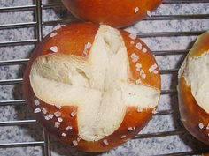 Swabian Pretzel Rolls as they make them in the South of Germany, in Swabia, the region around Stuttgart. Authentic, proven German recipe.