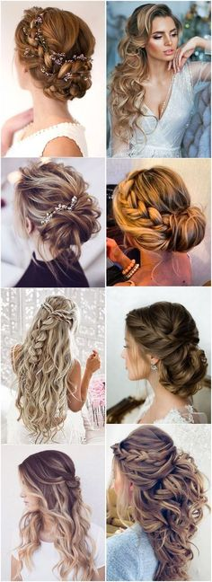19 Stylish Wedding Hairstyles to Brighten up Your Big Day! #Wedding #Hairstyles #Weddinghairstyles #fashion