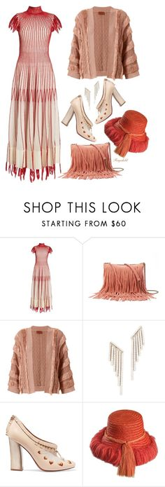 """""""Shimmy Shimmy: Fringe"""" by ragnh-mjos ❤ liked on Polyvore featuring Alexander McQueen, SONOMA Goods for Life, Missoni, Kenneth Jay Lane and Tory Burch"""