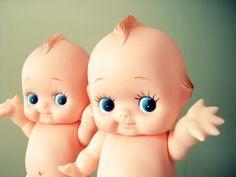 Vintage Kewpie Doll I loved my Kewpie dolls! I think these look like my Landry :)
