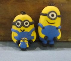 Minions gemaakt met Silk Clay http://www.yourzoap.nl/