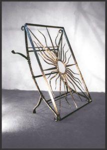ART-&-CRAFT--105 Metal Working, Magazine Rack, Arts And Crafts, Iron, Storage, Furniture, Home Decor, Purse Storage, Decoration Home