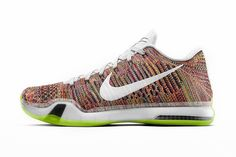 """NIKEiD Launches """"Multicolor"""" Option for the Nike Kobe X Elite: The ever-popular customization option will soon be available for Kobe's signature shoe. Designer Sneakers Mens, Kobe 10, Most Popular Shoes, Nike Shoes Cheap, Cheap Nike, Kobe Shoes, Sneaker Release, Nike Id, Basketball Shoes"""