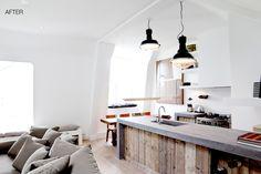 Индустриальный дизайн интерьера кухни от Bricks Amsterdam