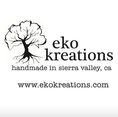 Eco-friendly embroidered linens. Inspired by nature, made by hand in northern CA.  www.ekokreations.com