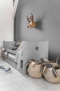 Grey on grey kids room