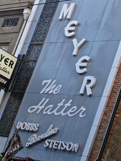 meyer the hatter . 136 st charles ave . new orleans . louisiana
